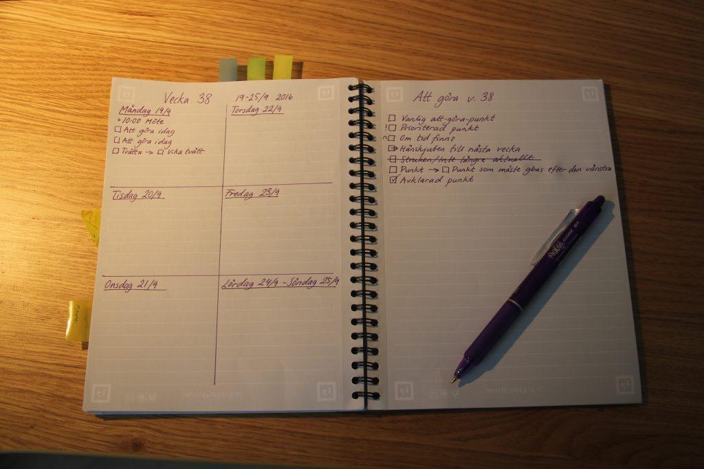 Hur kan jag samla mina att-göra-listor? Tips på digitala och analoga verktyg för att hantera listor. merstruktur.se