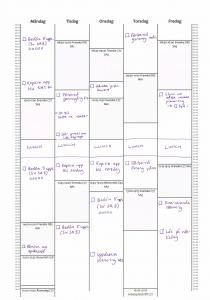 7+ dokument för en mer produktiv vecka