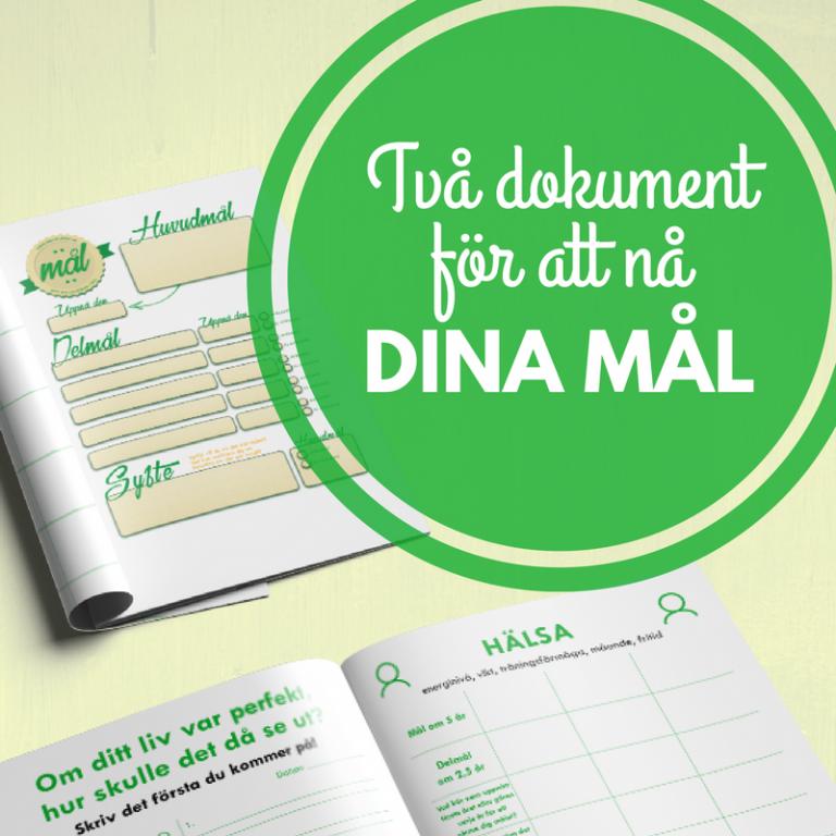 2 dokument för att hjälpa dig att nå dina mål
