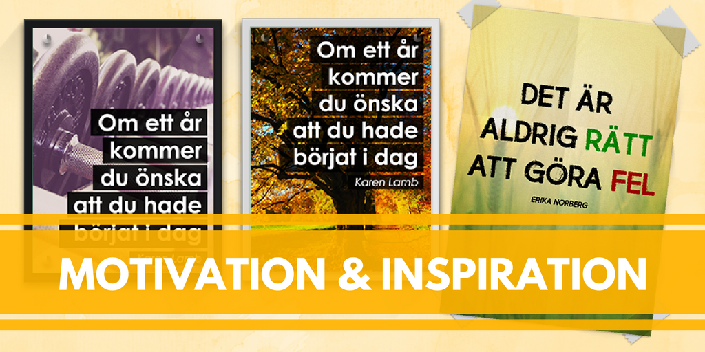 Motivation och inspiration