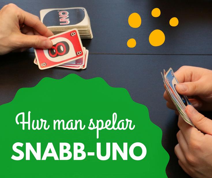 Hur man spelar Snabb-UNO