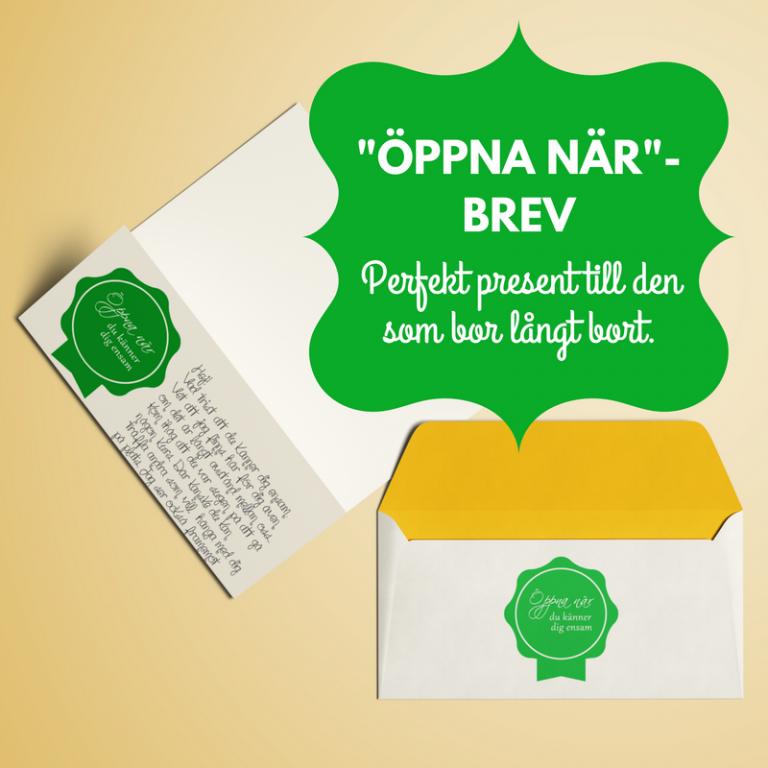 Öppna när-brev