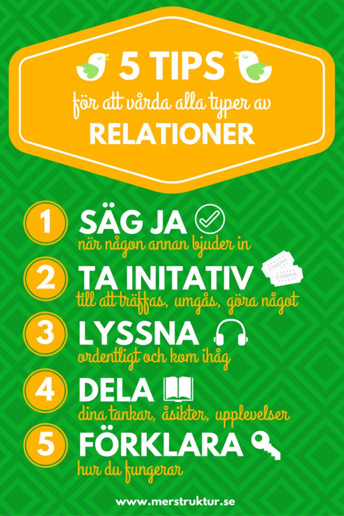 5 tips för att vårda alla typer av relationer. merstruktur.se