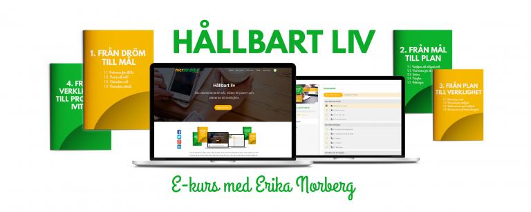 Ta kontroll över ditt liv med e-kursen HÅLLBART LIV!