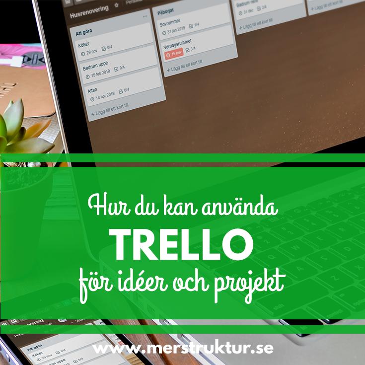 Hur du kan använda Trello för att samla idéer och organisera projekt