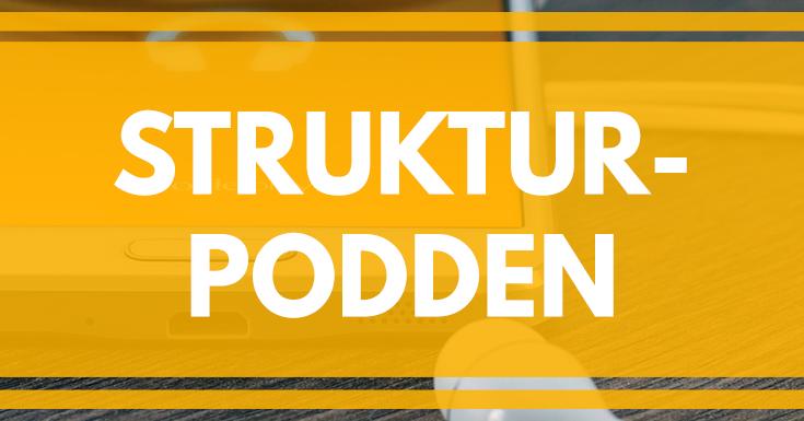 Strukturpodden - hur du kan få mer struktur på ditt liv med enkla steg. merstruktur.se