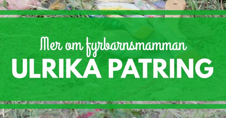Fyrbarnsmamman Ulrika om familjens rutiner och tider. merstruktur.se